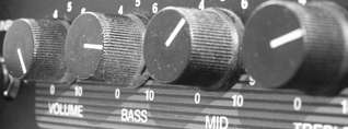 Photo of bass amp