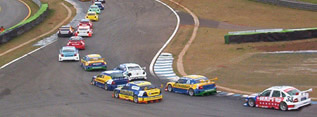 Photo of stock cars